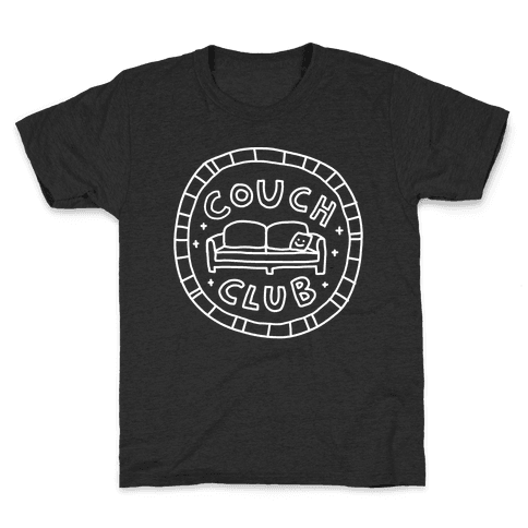 Couch Club Membership Badge Kids T-Shirt