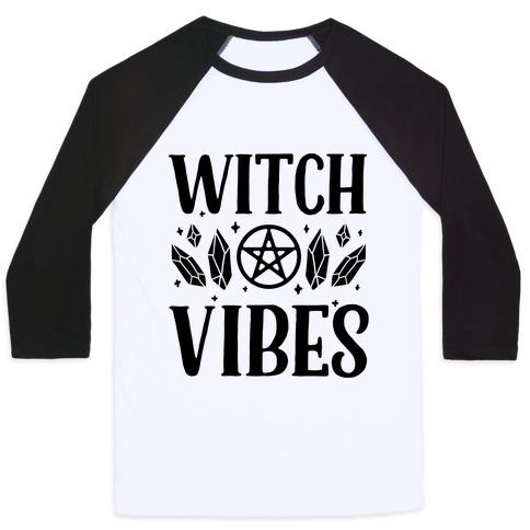 Witch Vibes Baseball Tee