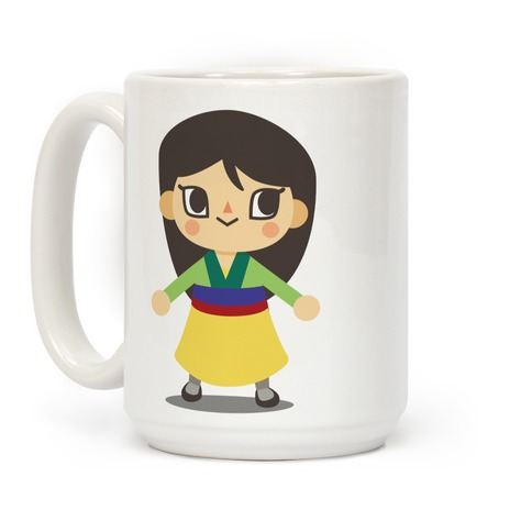 Princess Crossing Mulan Parody Coffee Mug