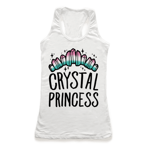 Crystal Princess  Racerback Tank Top