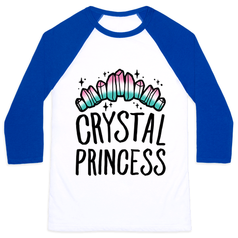 Crystal Princess  Baseball Tee