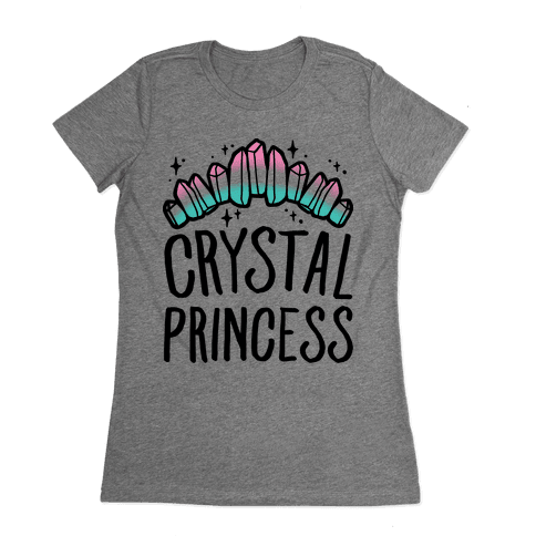 Crystal Princess  Womens T-Shirt