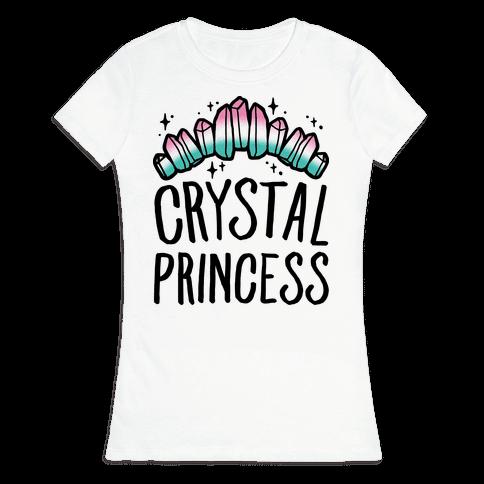 Crystal Princess  Womens T-Shirt