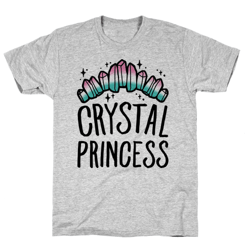Crystal Princess  Mens T-Shirt