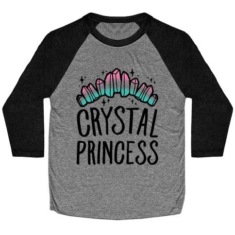 Crystal Princess Baseball Tee