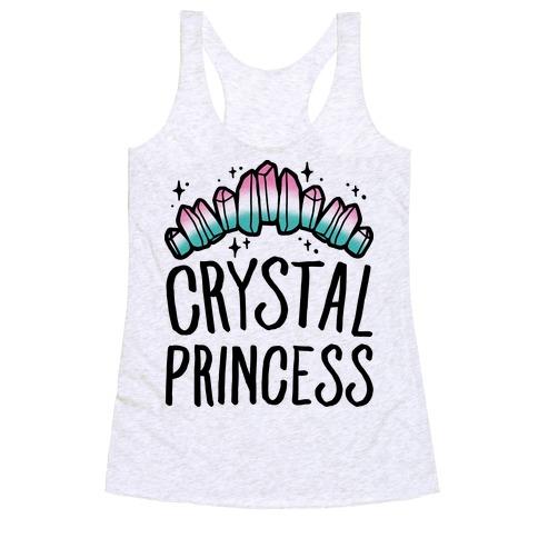 Crystal Princess Racerback Tank Top