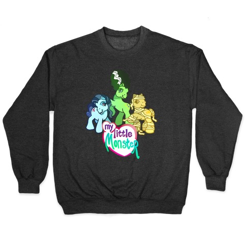 My Little Monster Pony Pullover