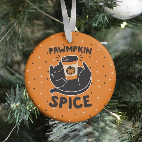 Pawmpkin Spice Ornament