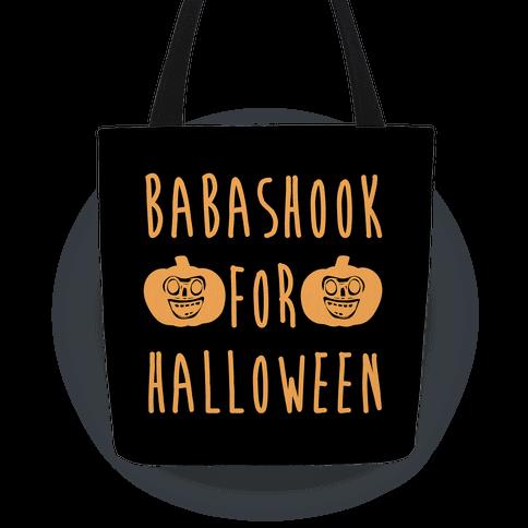 Babashook For Halloween Parody