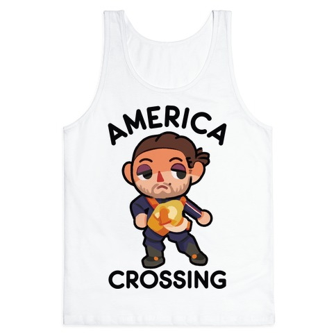 America Crossing Parody Tank Top