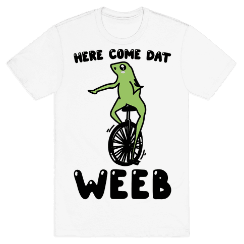 Here Come Dat Weeb Mens T-Shirt
