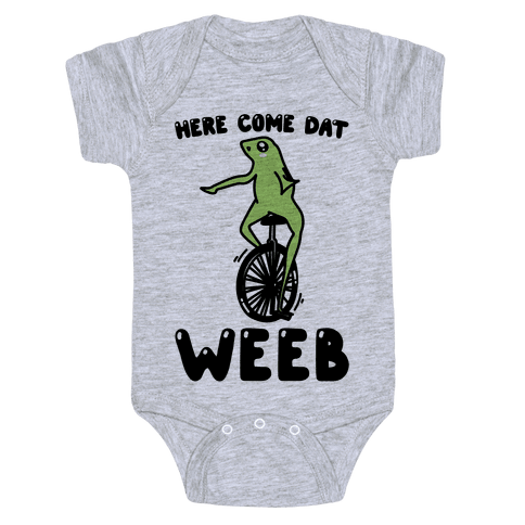 Here Come Dat Weeb Baby Onesy