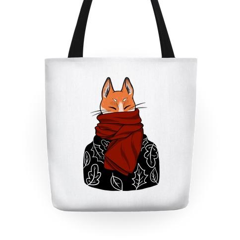 Autumn Fox Tote