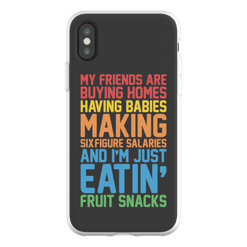 I'm Just Eatin' Fruit Snacks Phone Flexi-Case