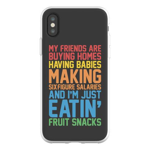 I'm Just Eatin' Fruit Snacks Phone Flexi-Case