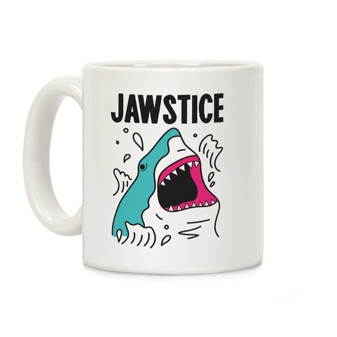 JAWSTICE Shark Coffee Mug