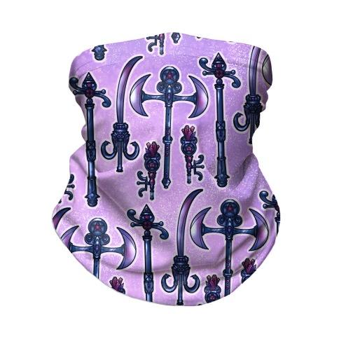 Magical Goth Girl Items Neck Gaiter