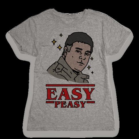 Easy Peasy Womens T-Shirt