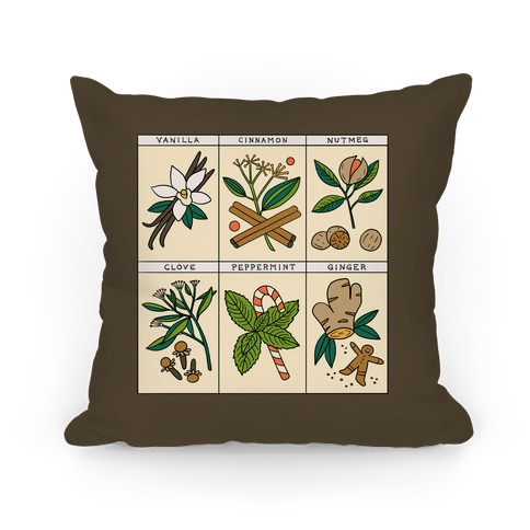 Holiday Spice Botanicals Pillow