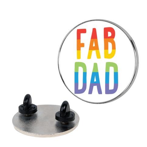 Fab Dad pin