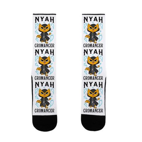 Nyahcromancer Sock