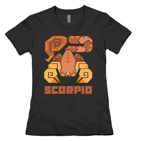 Monster Hunter Astrology Sign: Scorpio Womens T-Shirt