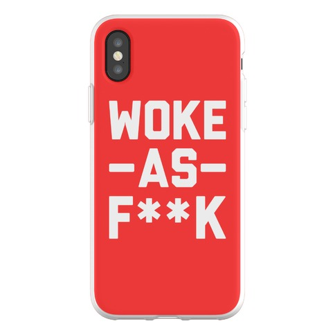 Woke As F**k Phone Flexi-Case