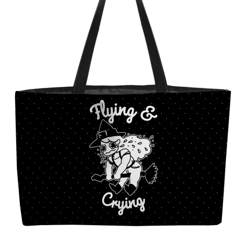 Flying & Crying Weekender Tote