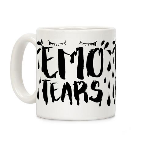 Emo Tears Coffee Mug