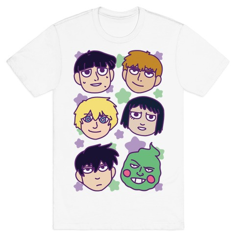 Mob Psycho 100 Pattern T-Shirt