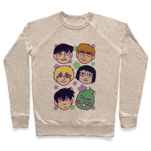Mob Psycho 100 Pattern Pullover