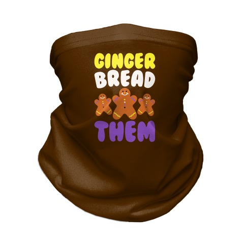 Ginger Bread Them Neck Gaiter