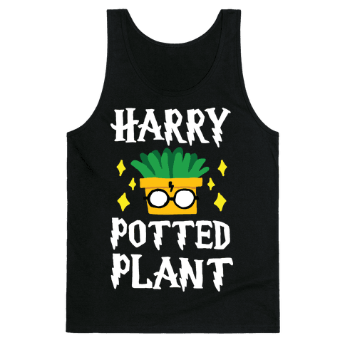 Harry Potted Plant Tank Top