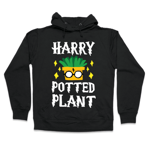 Harry Potted Plant Hooded Sweatshirt