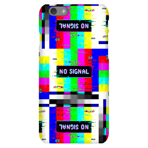 Glitchy No Signal Bars Phone Case