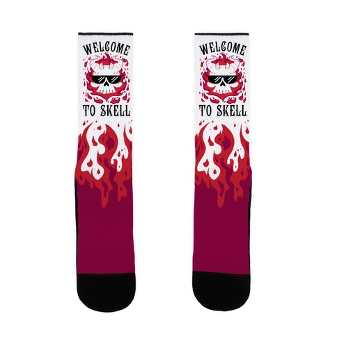 Welcome To Skell Sock