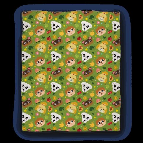 Animal Crossing Pattern Blanket