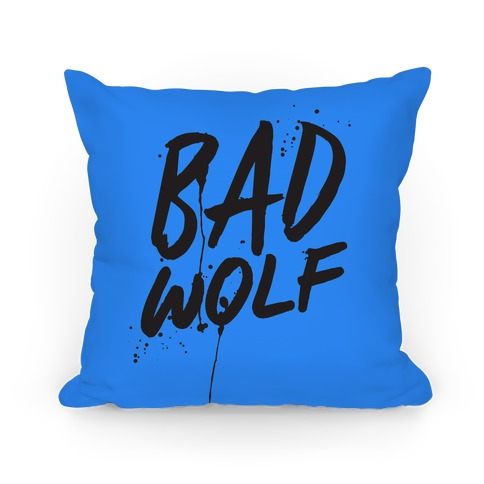 Doctor Who Bad Wolf Pillow