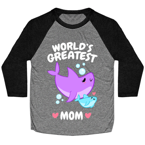 World's Greatest Mom Baseball Tee
