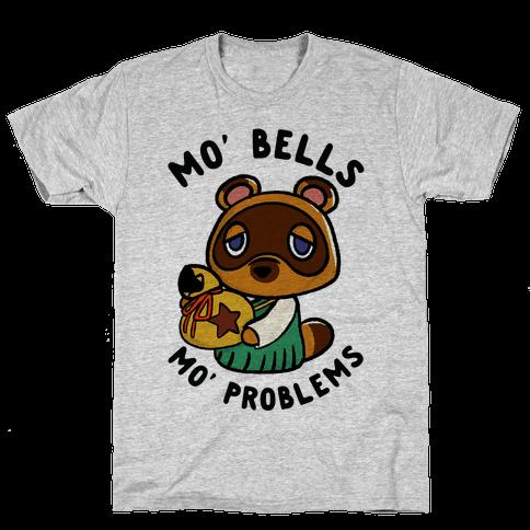 Mo' Bells Mo' Problems Tom Nook Mens T-Shirt