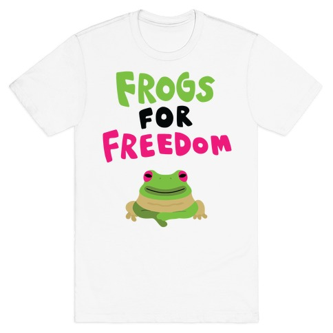 Frogs for Freedom T-Shirt