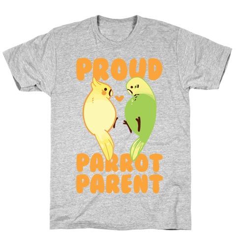Proud Parrot Parent Mens/Unisex T-Shirt