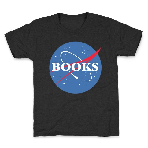 Books Nasa Parody Kids T-Shirt