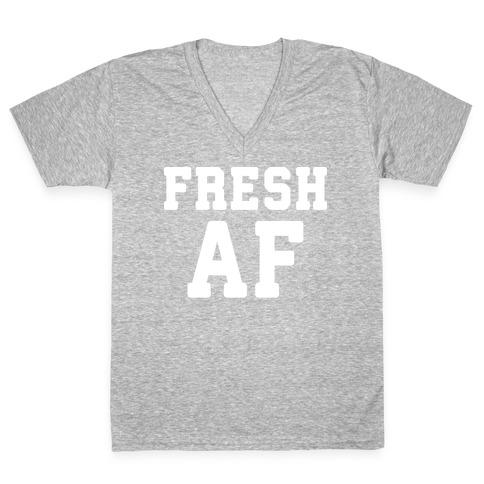 Fresh AF V-Neck Tee Shirt