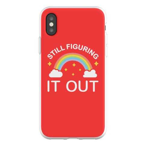 Still Figuring It Out Phone Flexi-Case