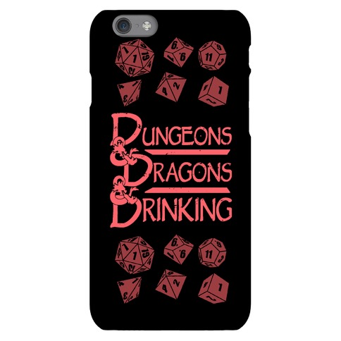 Dungeons & Dragons & Drinking Phone Case