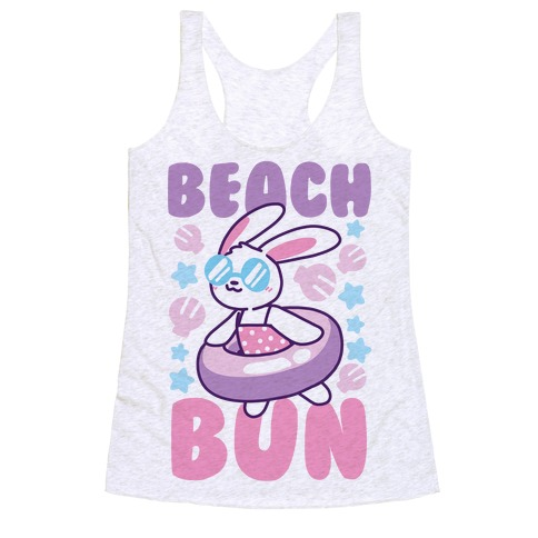Beach Bun Racerback Tank Top