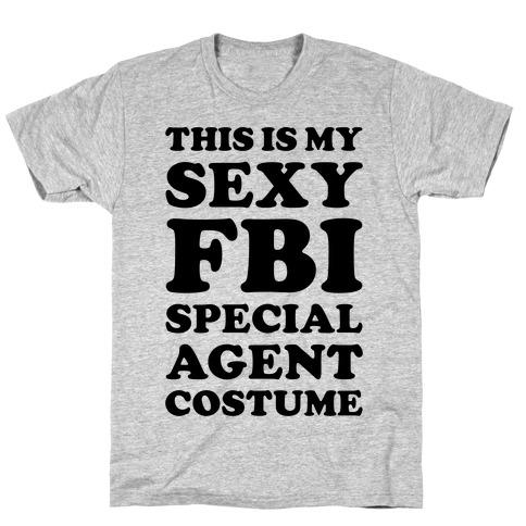 Sexy FBI Special Agent Mens T-Shirt
