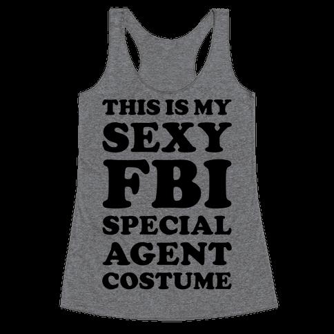 Sexy FBI Special Agent Racerback Tank Top