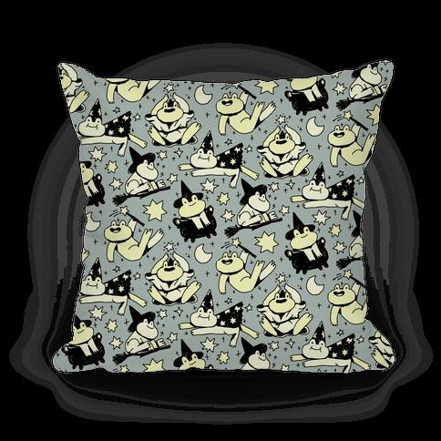 Magic Frogs Pillow